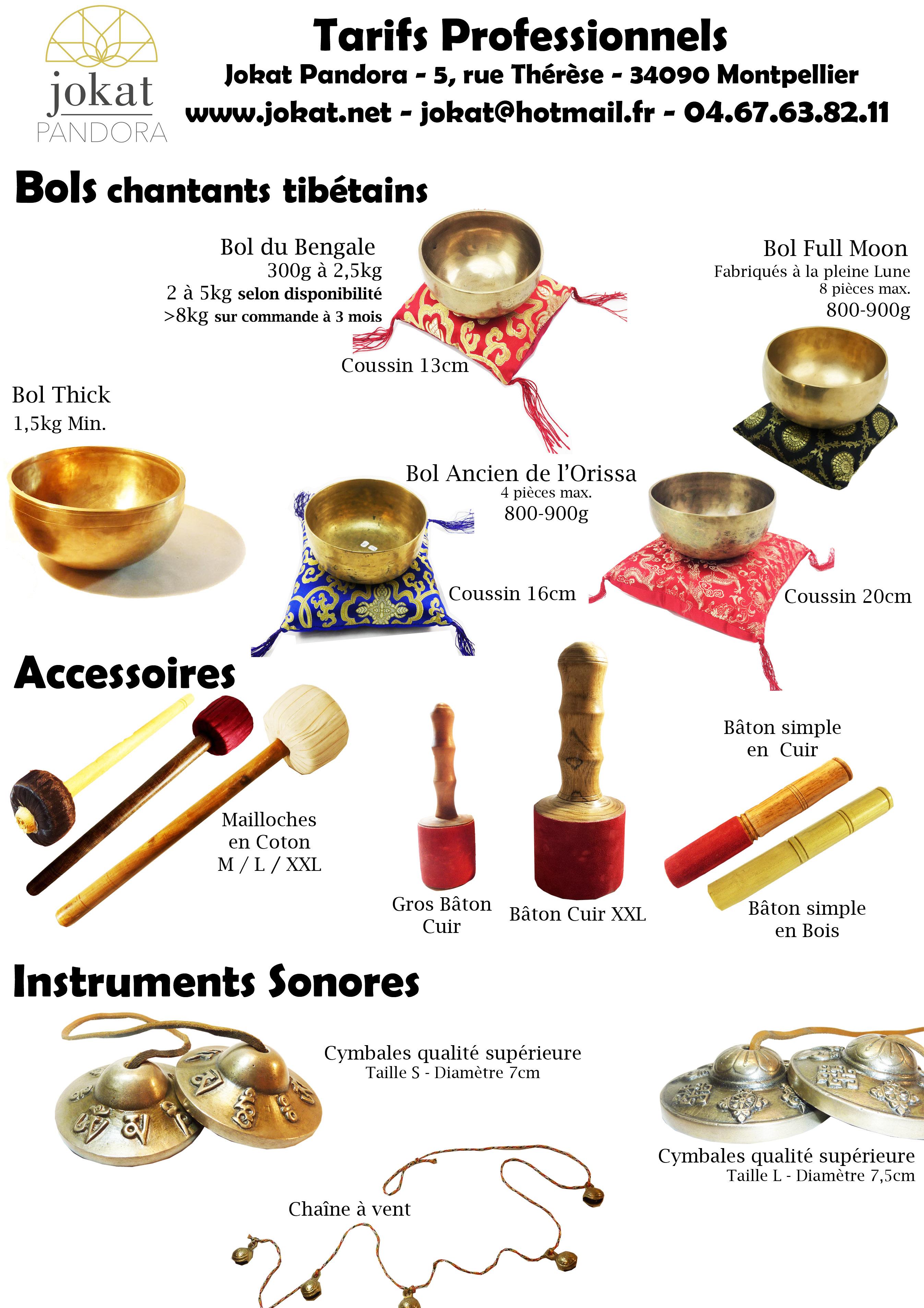 instruments sonores en vente grossiste