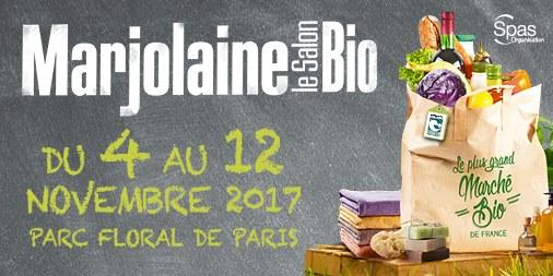 Salon bio marjolaine du 4 au 12 novembre 2017 paris for Salon marjolaine